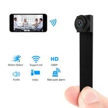 Мини Wifi камера Дистанционное управление 1080 P P2P видео рекордер wi fi мини маленькая цифровая видеокамера ip-камера поддержка Скрытая TFcard
