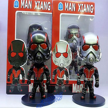 2 Styles Anime Figure Ant-Man Figure Juguetes Antman Black&Silver Brinquedos PVC Action Figure Doll Kids Toys Free Shipping