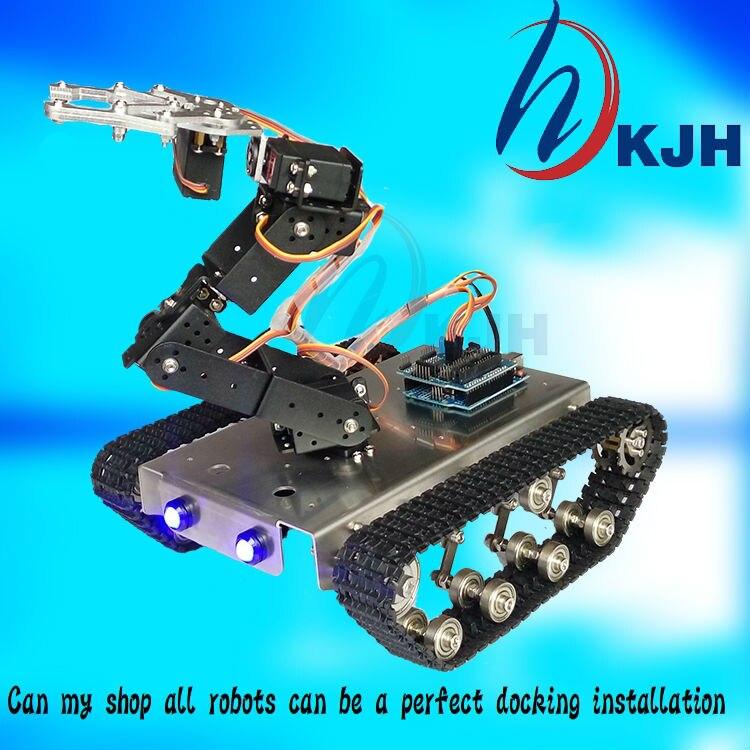 δεξαμενή Robot DIY Σασί Έξυπνη τροχιά με - Παιχνίδια απομακρυσμένου ελέγχου - Φωτογραφία 3