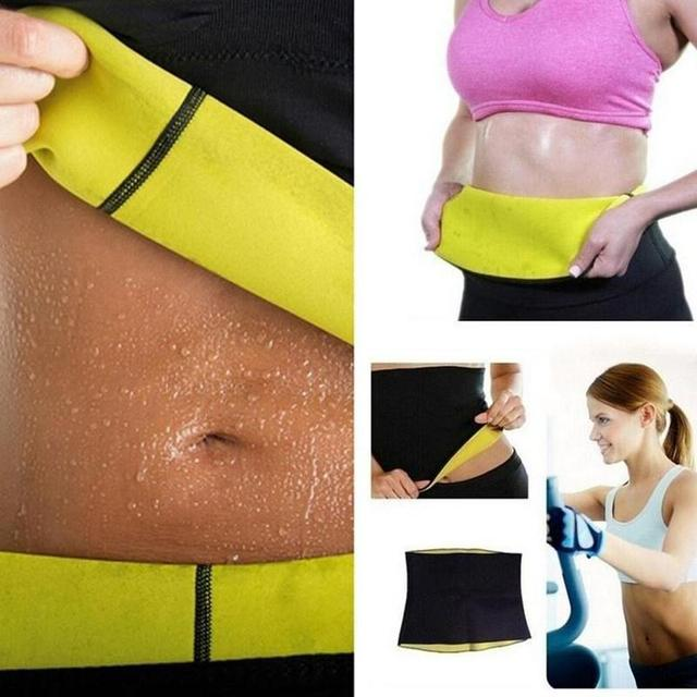 Fitness Women Slimming Waist Belts Neoprene Body Shaper Training Corset Cincher Trainer Weight Loss Burn Exercise Sweat Bodysuit 3