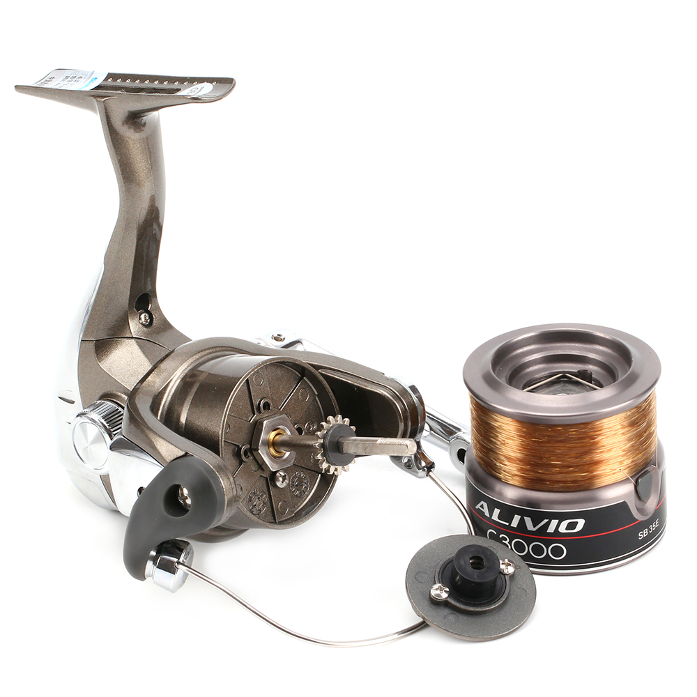 New Shimano Spinning Reel ALIVIO C-3000 for Freshwater Lure casting Fishing
