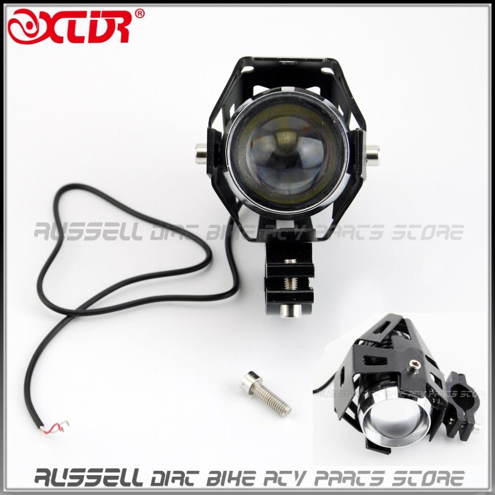 handlebar light led waterproof driving fog lens spot headlight lamp for motorcycle motorbike dirt pit bike e bike atv quad in atv parts accessories from  [ 1000 x 1000 Pixel ]