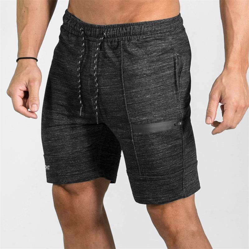 2017 Top Quality Men Casual Brand Gyms Fitness Shorts Men Professional Bodybuilding Short Pants