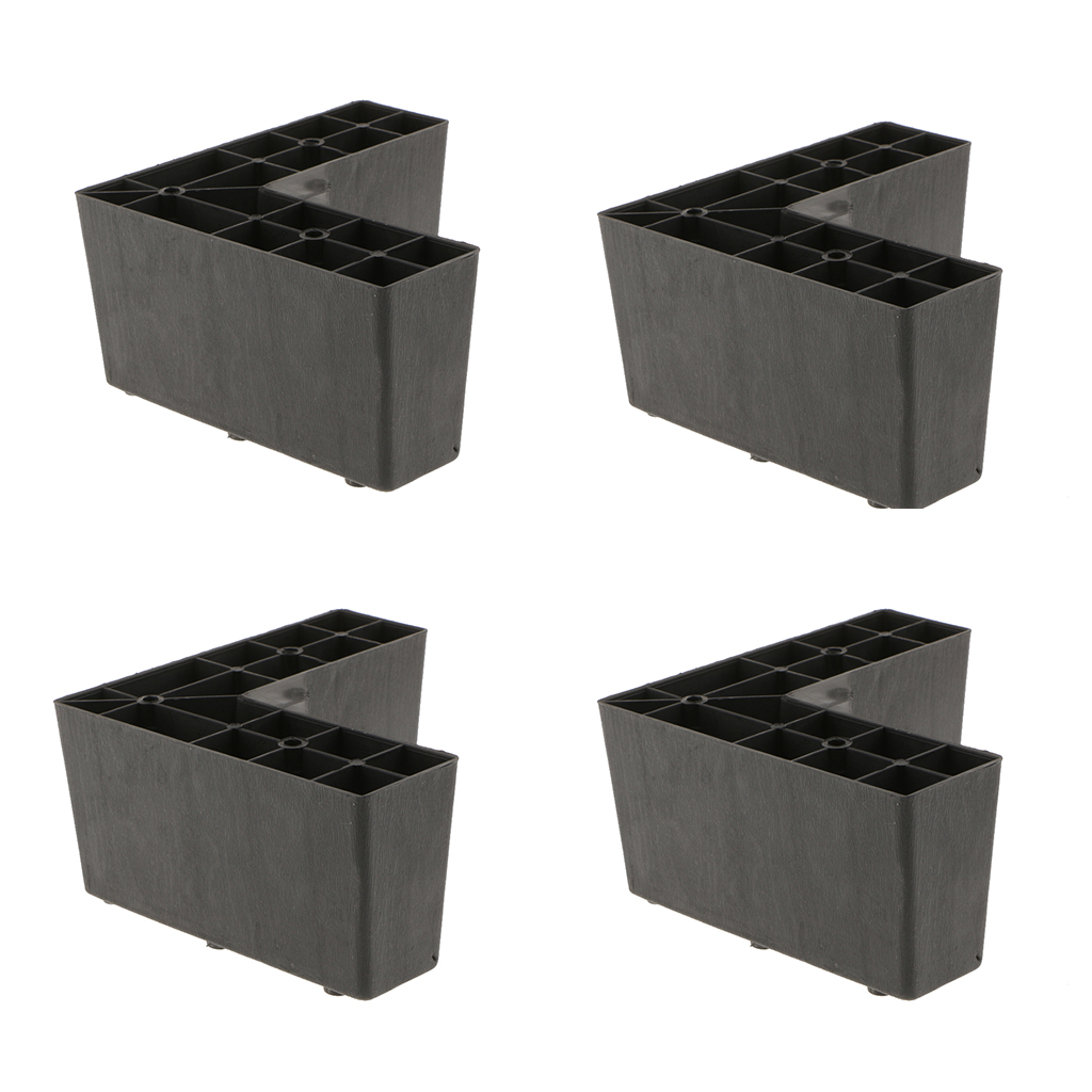 Miraculous Us 16 07 20 Off 4 Pack Universal Plastic Triangle Furniture Legs Sofa Leg Feet Holder For Setttee Couch Bed Black In Furniture Legs From Furniture Best Image Libraries Weasiibadanjobscom