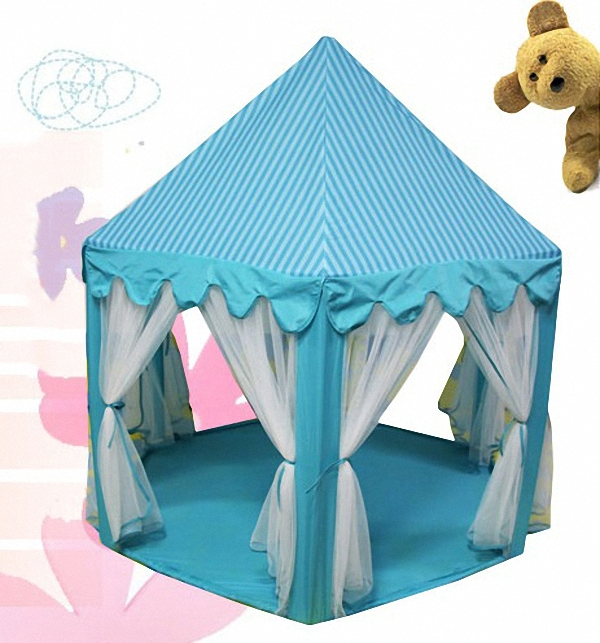 Blue Hexagon Kids Play Tent Big Childrenu0027s Tent Playhouse with Mesh-in Toy Tents from Toys u0026 Hobbies on Aliexpress.com | Alibaba Group  sc 1 st  AliExpress.com & Blue Hexagon Kids Play Tent Big Childrenu0027s Tent Playhouse with ...