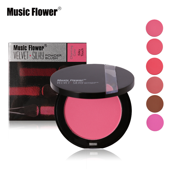 sleek makeup face powder velvet silky touch powder blush charming
