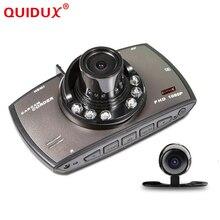 Quidux два объектива Видеорегистраторы для автомобилей Двойной Камера G30 1080 P видео Регистраторы с заднего вида Камера S Ночное видение видеокамера Blackbox HDMI порт