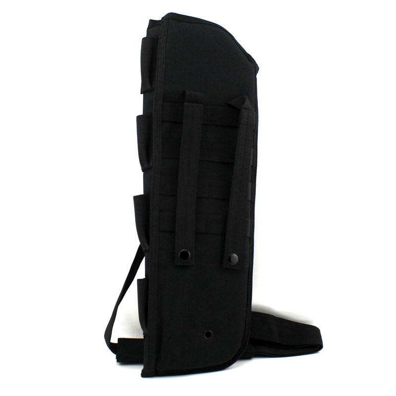 ombro sling caso acolchoado rifle coldre
