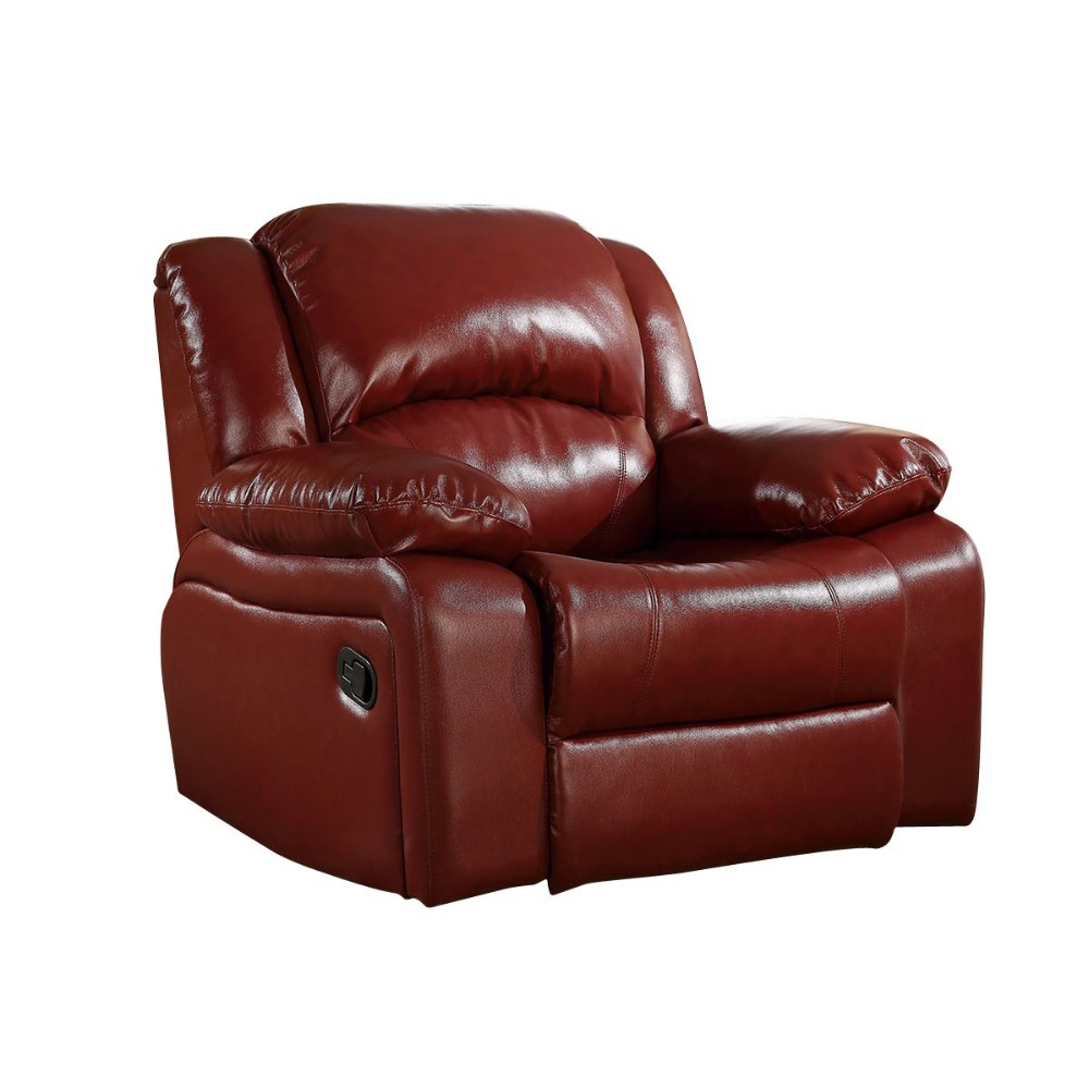 RAMA DYMASTY genuine leather recliner sofa relax massage sofa modern design for office or living room image