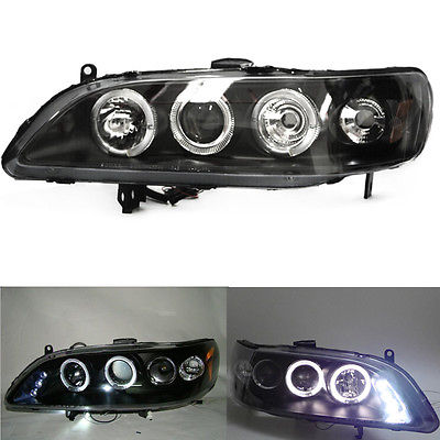 Headlights For Honda Accord Coupe 2-door 1998-02 With Xenon Projector какую хонда honda accord или пассат б5