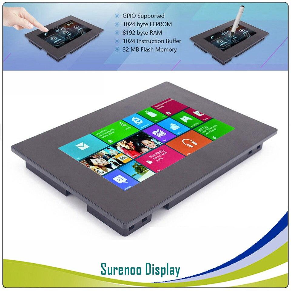 7.0 Nextion Renforcée HMI Intelligente Smart USART Série TFT LCD Module Affichage Capacitif Résistif Tactile Panneau w/Boîtier