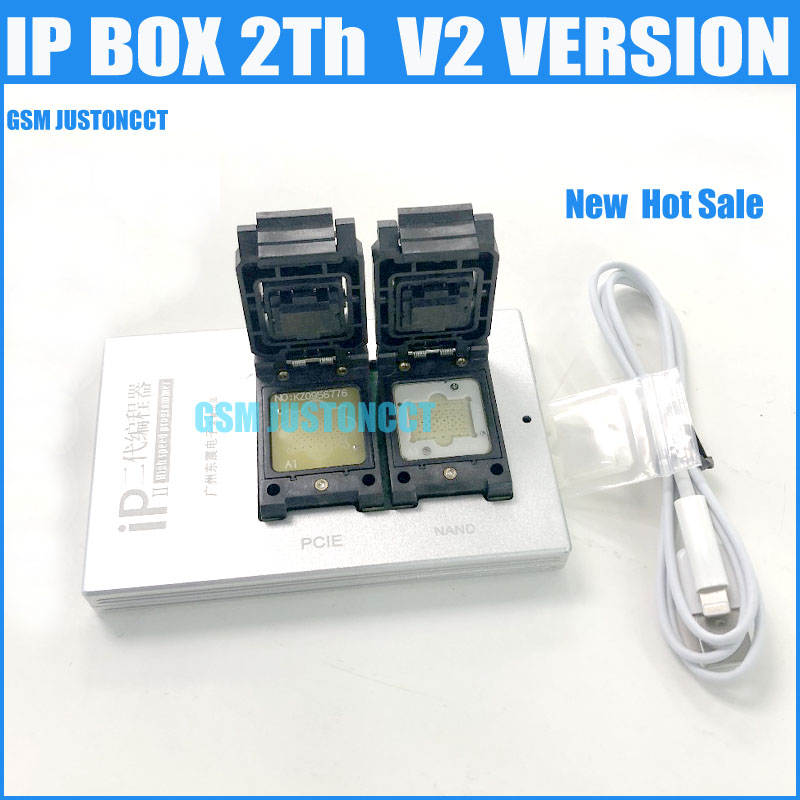 2019 Newest IPBox V2 IP BOX 2th Generation NAND PCIE 2in1 High Speed Programmerfor LPho Ne7 Plus/7/6S Plus/6S /6 Plus/5S/5C/5/