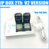 The Newest IP BOX V3 For Iphone 4~7Plus\Ipad 3~Ipad 2018 Support for for Iphone NAND and E3NAND Write SN\WIFI\BT\..
