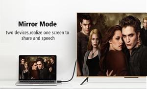 Image 4 - ANNNWZZD Cable HDMI 2,0 4K 1080P HDMI a HDMI Cable 5m 1m 10m Cable HDMI adaptador 3D para TV LCD ordenador portátil PS3 proyector