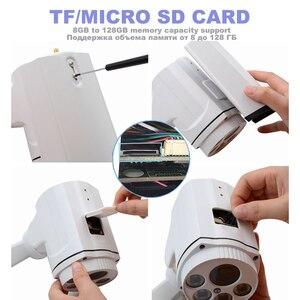 Image 4 - OwlCat 5x 10x Optical Zoom HD 5MP Sony 335 PTZ WiFi IP Camera Wireless Bullet Outdoor with TF SD Card 128GB Video Audio Mic IR