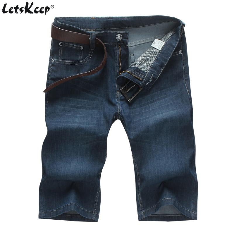 Stretch jeans shorts herren