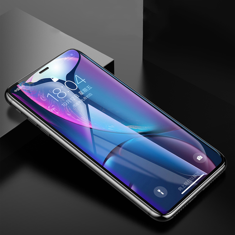 Protective tempered glass on the for iphone 7 6 8 plus XS max XR glass iphone x screen protector glass full cover iphone 7 6S 8 in Phone Screen Protectors from Cellphones Telecommunications
