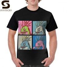 Murloc футболка Warcraft-Murloc специальный комплект футболка уличная Мужская футболка с графическим рисунком потрясающая футболка с коротким рукавом