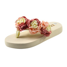 108524977 Zapatos de mujer Zapatillas de fibra de bambú de antideslizante 2019  Hermitage torta de flor de Camelli zapatillas zapatos de mu.