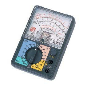 KYORITSU 1110 Analogue Multimeter with case DC 0.3V AC 12V  цены