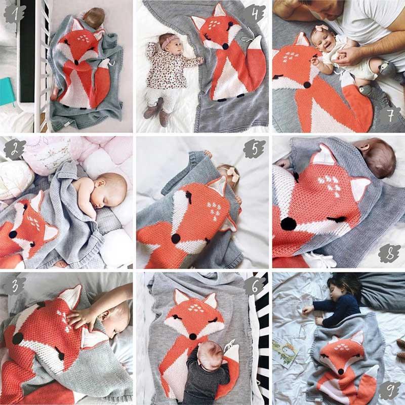 Knitting Blanket Baby (2)
