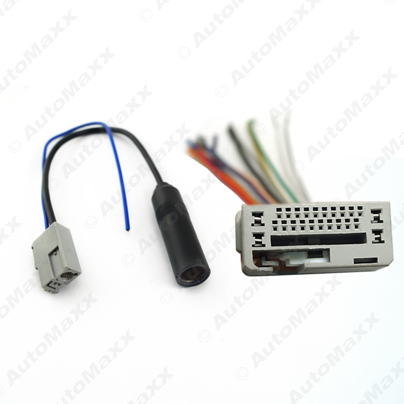 online get cheap honda wiring harness aliexpress com alibaba group 5set for honda 2008 2011 stereo cd audio aftermarket wire harness cable radio antenna