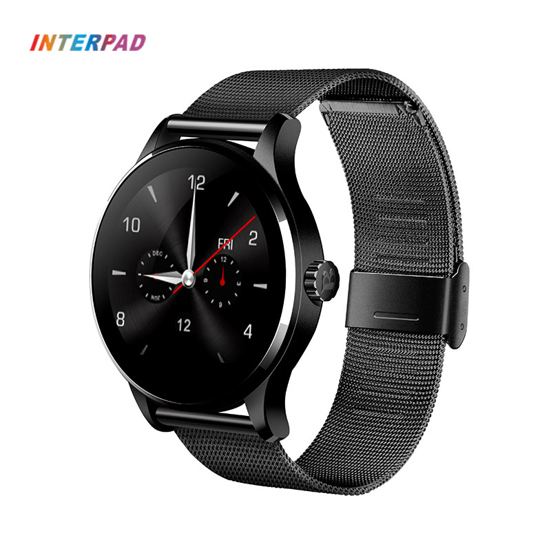 Interpad K88H Smart Watch HD Display Heart Rate Monitor Pedometer Fitness Tracker MTK2502C Smartwatch For Xiaomi 8 Huawei interpad p6 smart watch bluetooth heart rate monitor pedometer wearable smartwatch for ios iphone android xiaomi huawei watch
