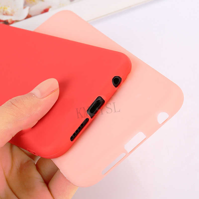 Soft TPU Candy Case For Samsung Galaxy A7 A750 A6 A8 Plus J6 J4 2018 S10E S9 S8 Plus Note 9 8 A50 A30 A70 A40 A10 M10 M20 Case