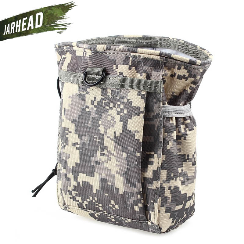 New Outdoor Hunter Military Waist Molle Tactical Airsoft Paintball Hunting Folding Mag Recovery Dump Pouch Bag