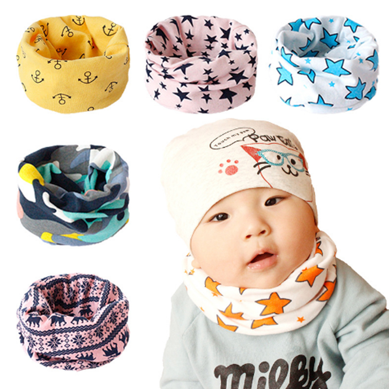 LNRRABC Magic Cute Cartoon Cotton Bandana Neck Gaiter Snood Headwear Tube   Scarf   Kids Baby   Scarf