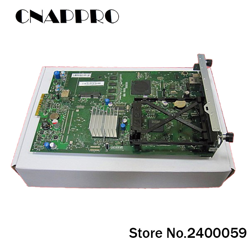 1PC/lot CE508-60001 CE50860001 Printer Formatter Board Main Logic Board  For Hp Laser Jet LJ CP 5520N 5525N 5520 5525 N Genuine