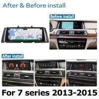 hd מסך אנדרואיד 8.0 עד רכב DVD Navi Player עבור BMW 7 Series F01 F02 2013 ~ 2015 NBT אודיו סטריאו HD מסך מגע הכל באחד (3)