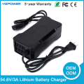 Built-in Fan 54.6V 2A/3A Intelligent Lithium Battery Charger Universal for 13-cell Power Tools 48V Li-ion Battery