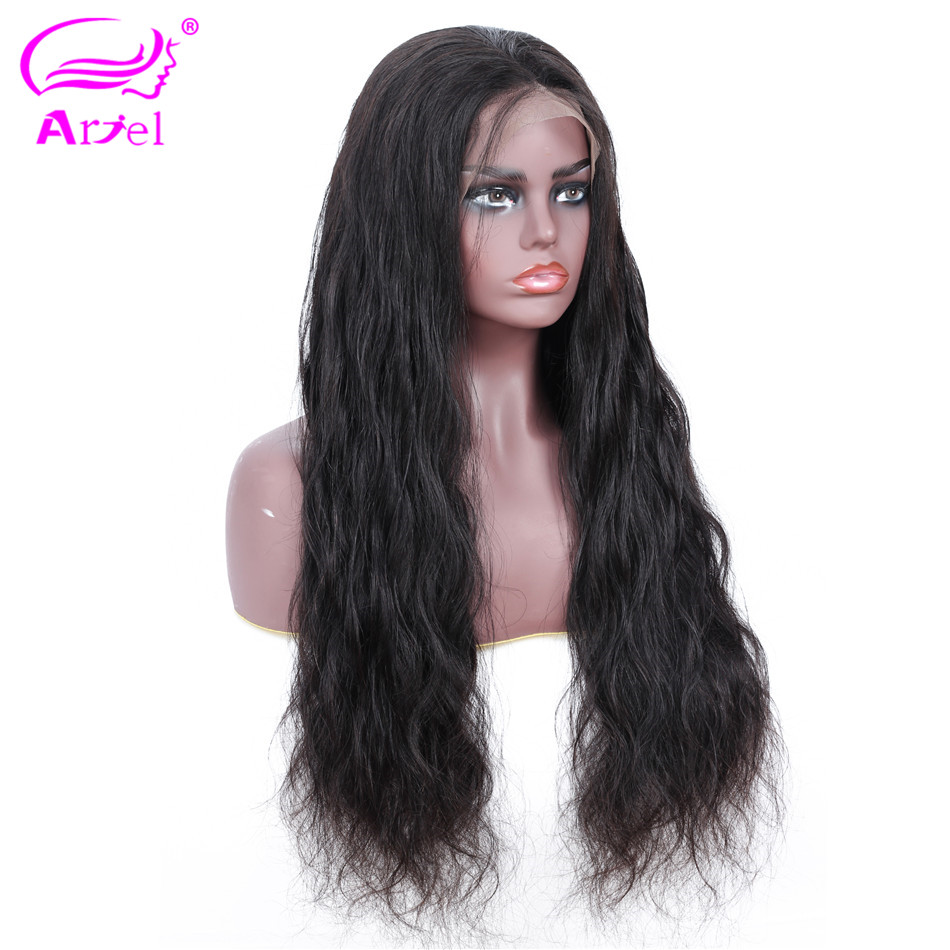 ARIEL 13 4 Lace Frontal Wigs Pre Plucked With Baby Hair Malaysian Remy Hair Wig Body