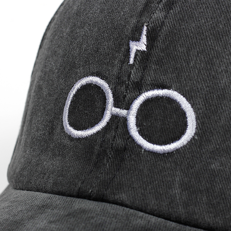 2018 new design dad hats women men glasses baseball cap high quality unisex fashion dad hats new lightning sports hats 4