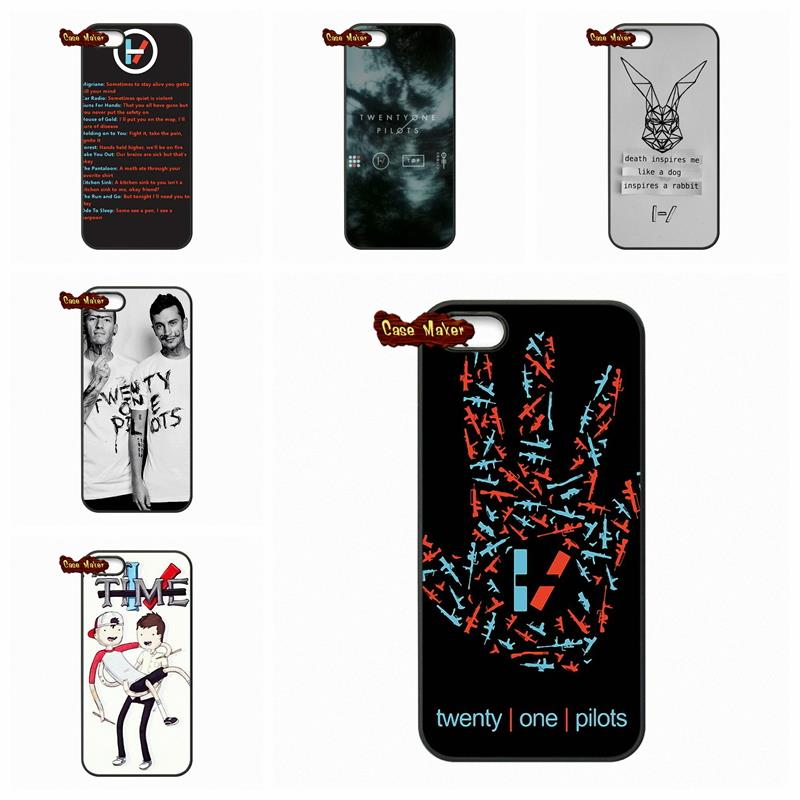 Music band 21 twenty one pilots fundas cover case for samsung galaxy s s2 s3 s4 s5 mini s6 s7 - Samsung galaxy s2 fundas ...