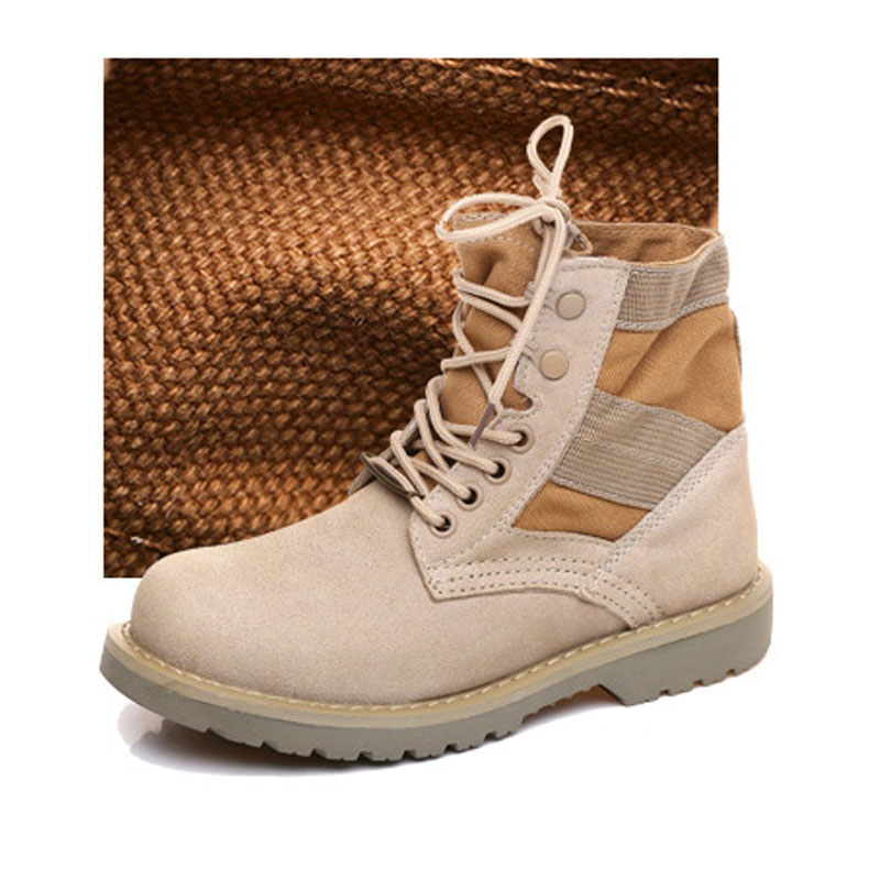 Men Hiking Shoes New Martin Boots Non-Slip Men's Tactical Boots