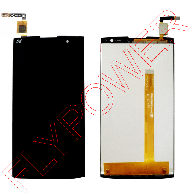 Para alcatel one touch m812 orange nura m812c m812f screen display lcd com tela de toque digitador assembléia; garantia de 100%