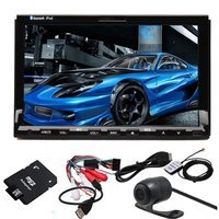 Free Rear Camera Map 7 Inch Car GPS Navigation DVD Player In Dash Car Video Stereo