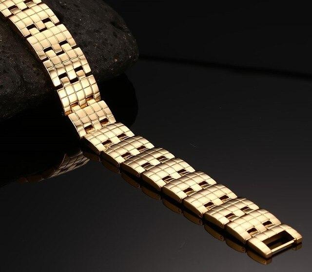 Фото модные ювелирные изделия золотого цвета из нержавеющей стали