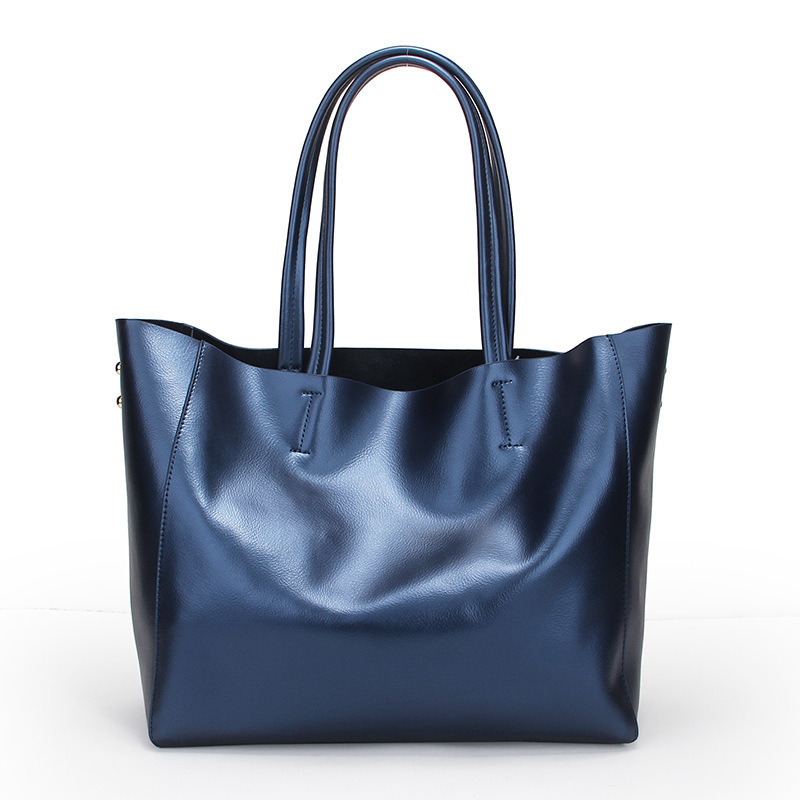 Luxury Bolsos Mujer Fashion Leather Bags Handbags Women Famous Brands Ladies Shoulder Bags Designer Tote Bag Bolsa Feminina Blue 4sets herringbone women leather messenger composite bags ladies designer handbag famous brands fashion bag for women bolsos cp03