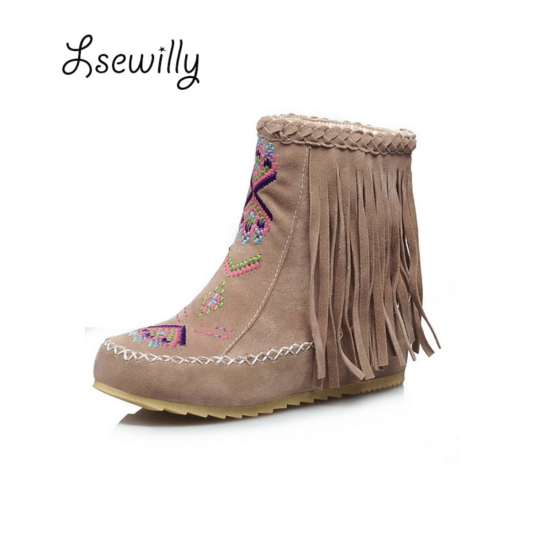 Online Get Cheap Leather Fringe Boots Womens -Aliexpress.com ...