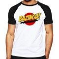 Venda quente de skate tshirt Bazinga projetado homens T-shirt de Algodão O-pescoço the big bang theory camiseta verão casual masculino tee camisa