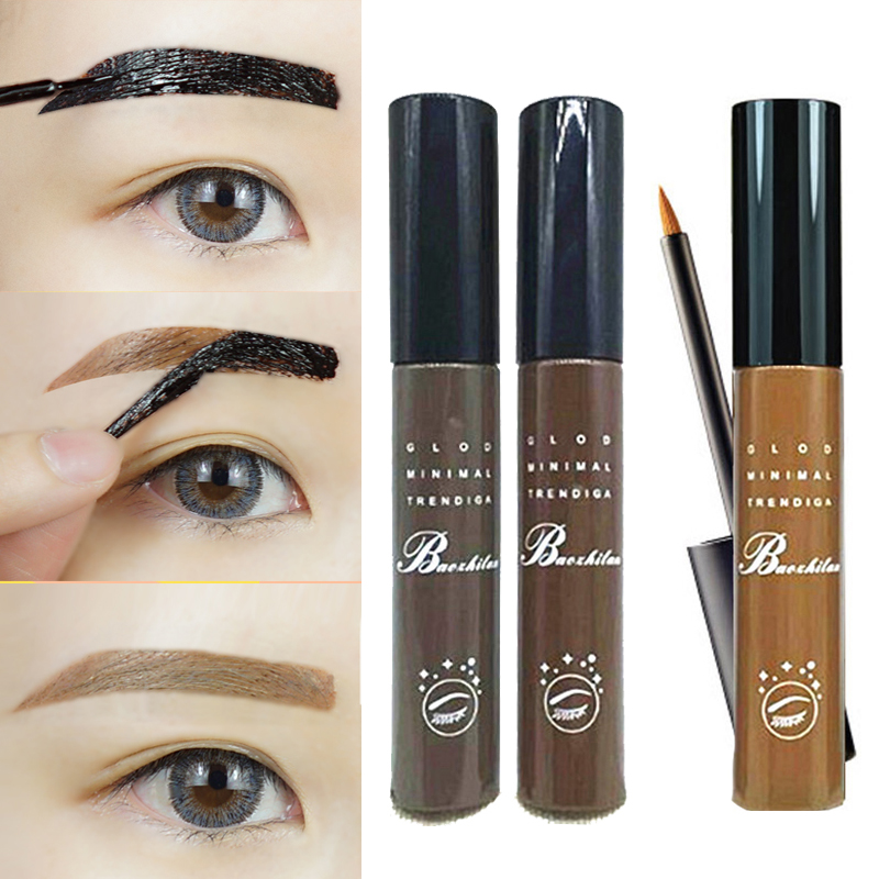 Brow gel brown reviews online shopping brow gel brown for Tattoo eyebrow tint