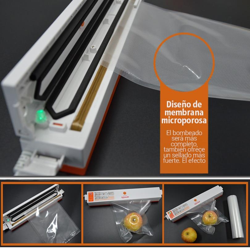 TINTON LIFE 28cmx500cm / Roll Vacuum Sealer Food Saver Bags - Συσκευές κουζίνας - Φωτογραφία 3