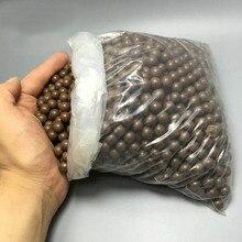 100 шт./лот охотничья Рогатка, боеприпасы шарик шарики для рогатки подшипник бурового раствора бусины патроны сплошной рисунок-доска мяч глина для яиц