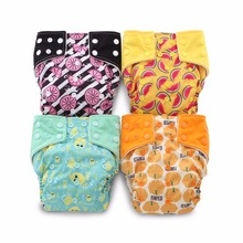 JinoBaby Fruit Aio Nappy Cloth Diaper - ժամանակակից հագուստի անձեռոցիկներն ամենալավ խնամքն են ձեր երեխայի համար