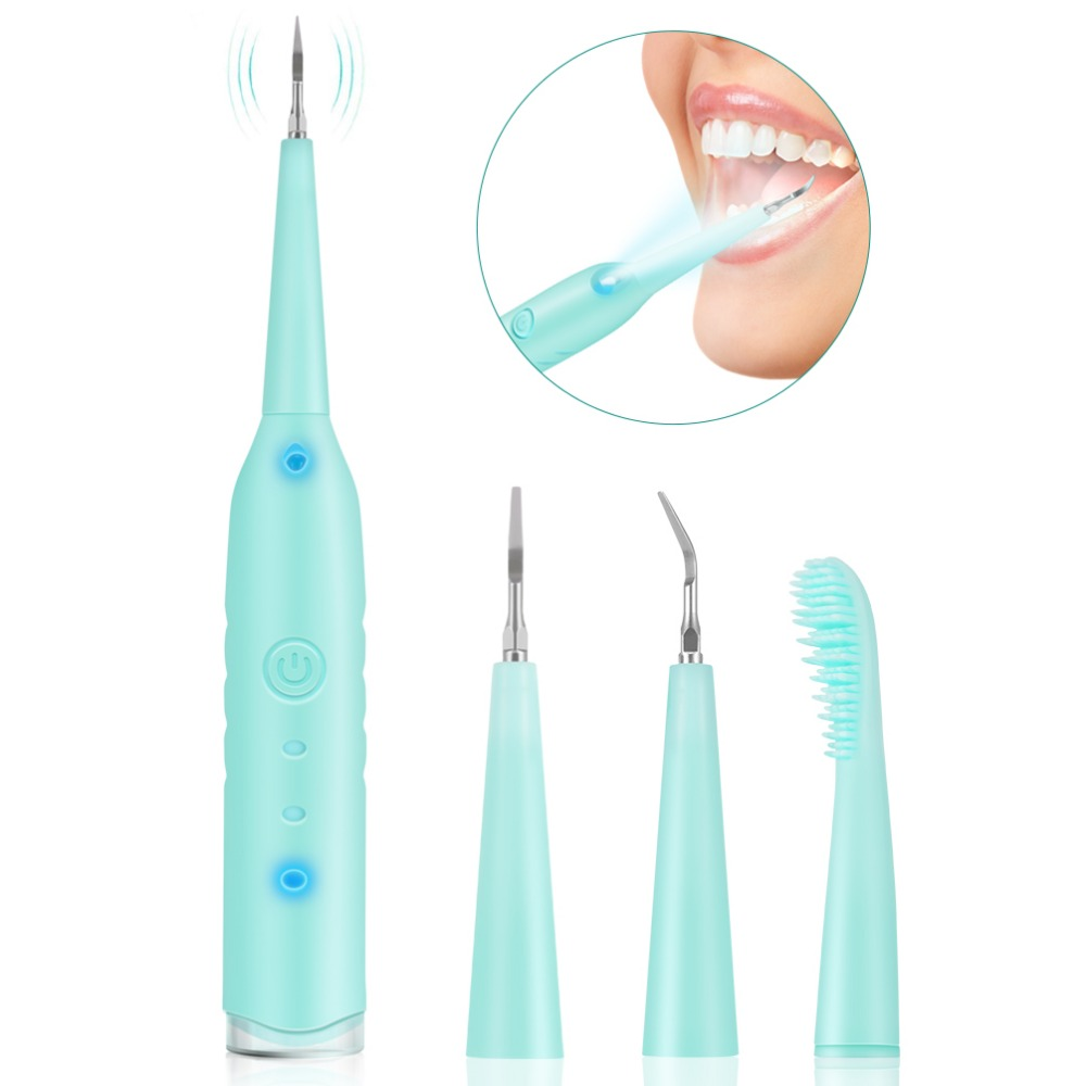 Portable Electric Sonic Dental Scaler Tooth Calculus Remover Tooth Stains Tartar Tool Dentist Blanqueador Dental Health HygienePortable Electric Sonic Dental Scaler Tooth Calculus Remover Tooth Stains Tartar Tool Dentist Blanqueador Dental Health Hygiene