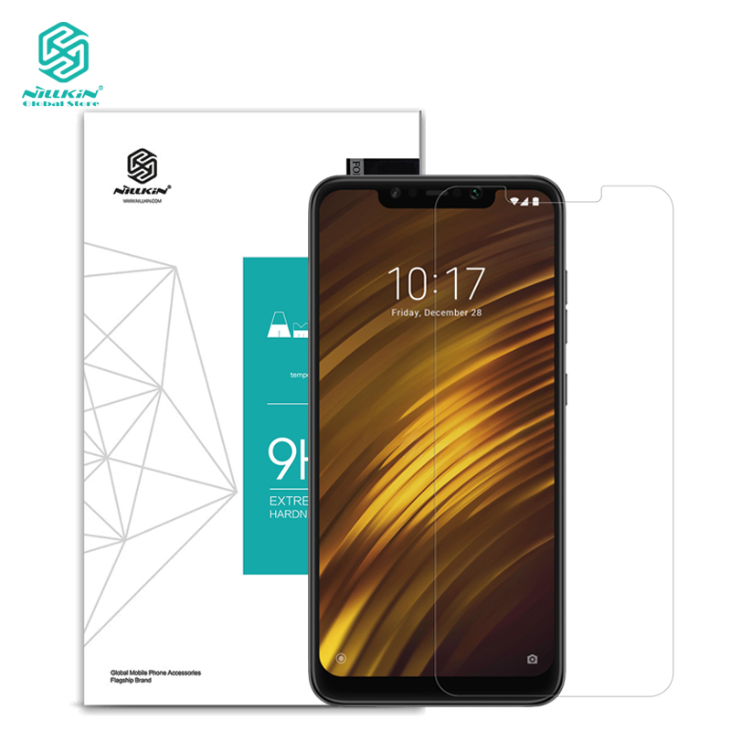 Nillkin Screen-Protector Tempered-Glass-Film Pocophone F1 Xiaomi For Explosion-Proof