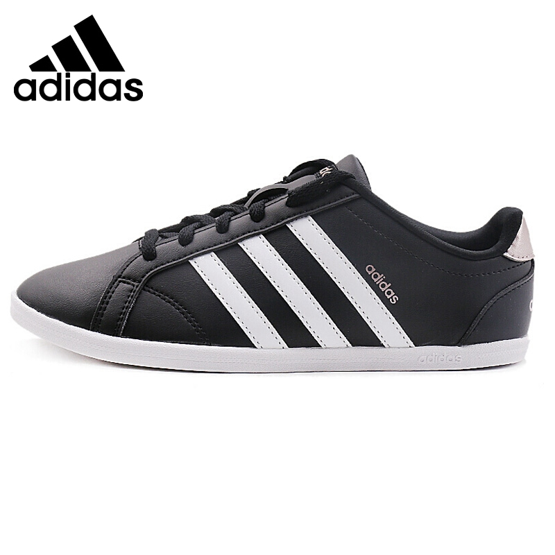 Original Adidas NEO Label CONEO QT Womens Skateboarding Shoes Sneakers Leisure Thread Flat Low-top Anti-Slippery Cozy SneakersOriginal Adidas NEO Label CONEO QT Womens Skateboarding Shoes Sneakers Leisure Thread Flat Low-top Anti-Slippery Cozy Sneakers